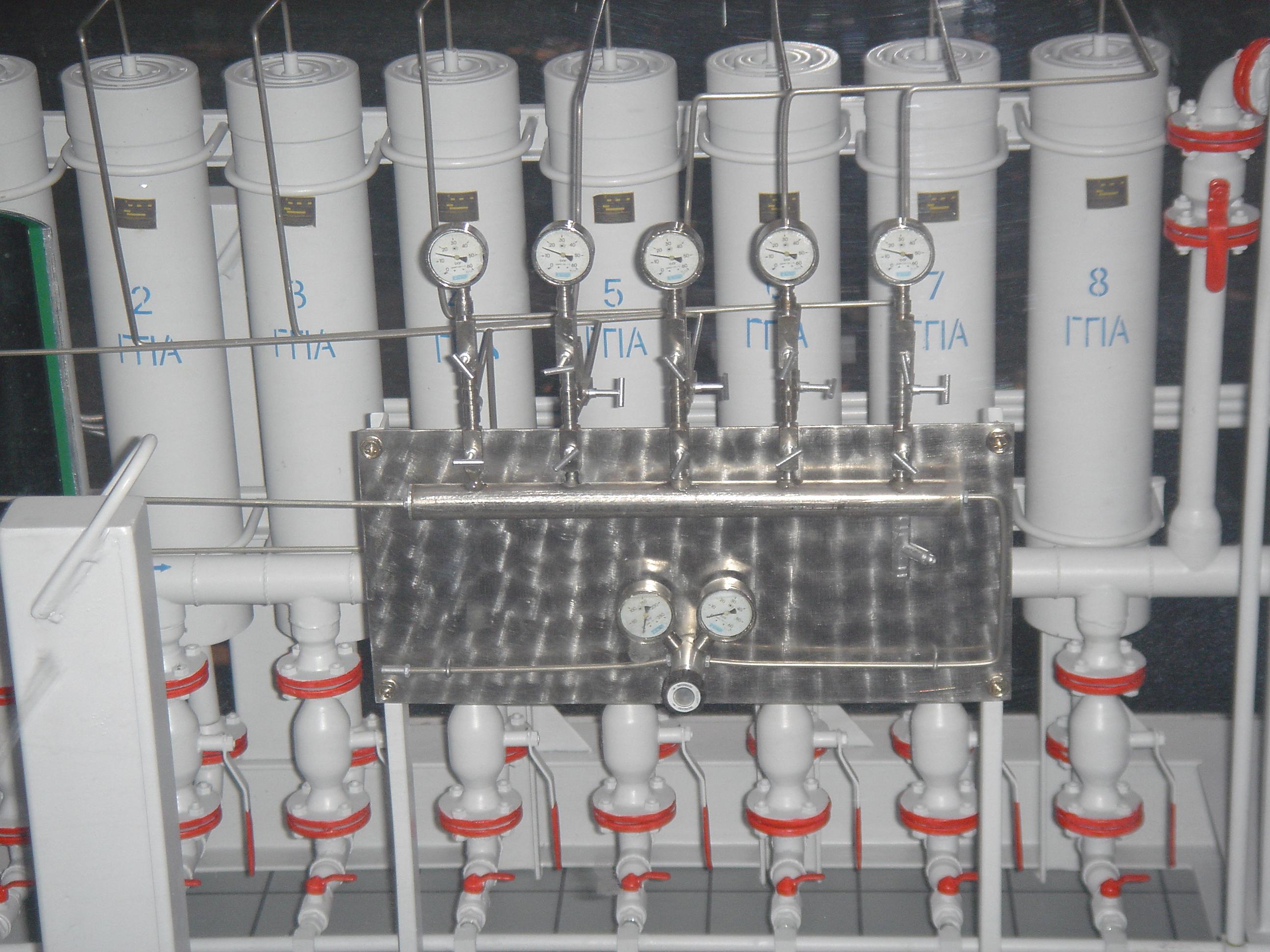 Система сглаживания волн давления